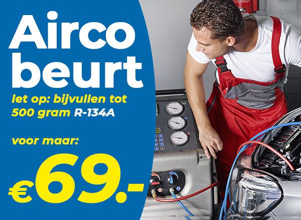 Houd je auto koel. Geef je airco nu een servicebeurt.