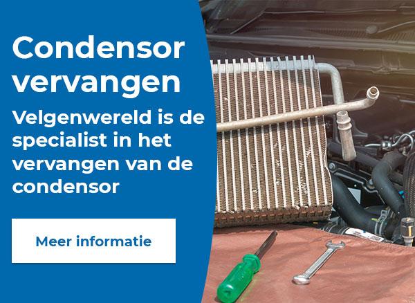 Is uw condensor aan vervanging toe?