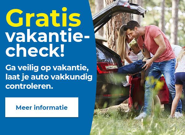 Ga veilig op vakantie!