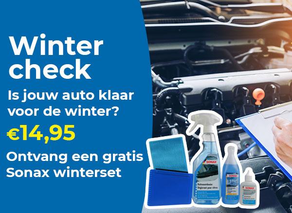 Plan nu een winter check in!